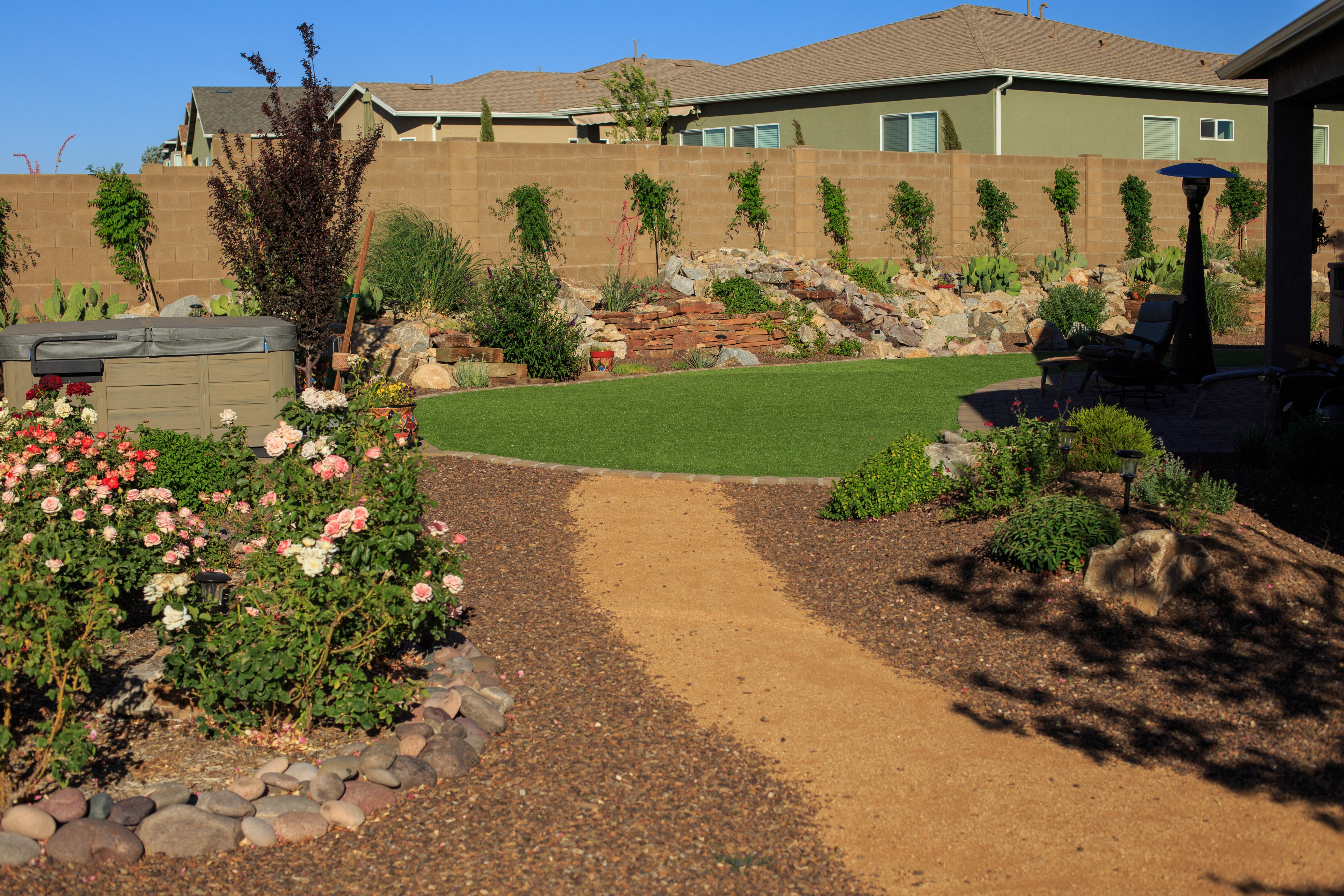 Landscaping Without A Lawn New Life Landscapes Inc